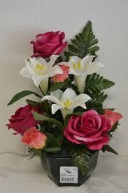 composition florale avec des roses composition de deuil tous les messages sur composition de deuil