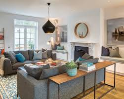 Decorating A Sofa Table Lovable Living Room Sofa Table Best 25 Ideas On With