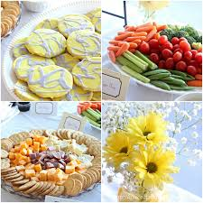 yellow baby shower ideas gray yellow baby shower decorating ideas of family home