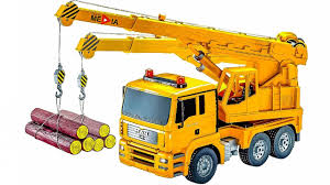 trucks for children diggers construction vehicles toys with tow