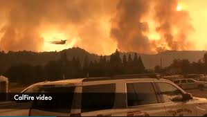 California Wildfires Hume Lake by Mariposa County Fire Doubles In Size As Flames Force Thousands To