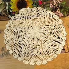 set de table vintage achetez en gros napperons au crochet de coton en ligne à des
