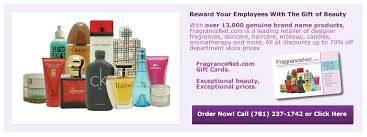 corporate gift card fragrancenet corporate gift card program