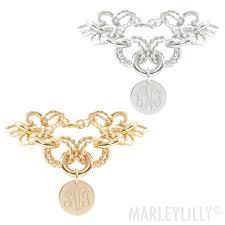 monogramed jewelry monogrammed jewelry custom initial necklaces marleylilly
