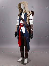 assasins creed halloween costume assassins creed iii connor kenway costume for sale