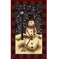 3 X 5 Area Rug by Snowman Holiday Area Rug 3 U0027 X 5 U0027 Free Shipping Today