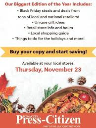 press citizen s thanksgiving day edition packed with deals