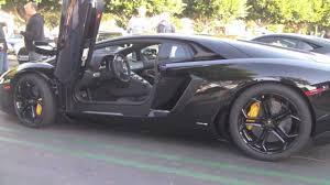 lamborghini aventador rev black lamborghini aventador with engine rev