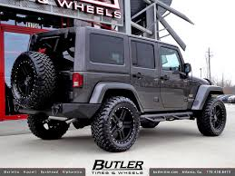 black rims for jeep wrangler unlimited all sizes jeep wrangler unlimited with 20in black rhino mojave