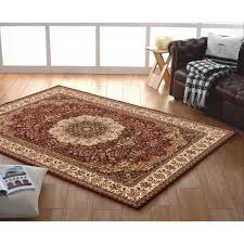 Red And Blue Persian Rug by Medallion Red Persian Design Floor Rugs Online Free Shipping