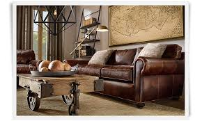 Brompton Leather Sofa Lancaster Leather Sofa Bonners Furniture