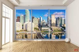 mural french window overlooking america florida wallpapers mural french window overlooking america florida
