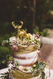 buck and doe cake topper metallic gold deer cake topper buck and doe pair 2639534 weddbook