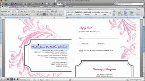 word document invitation template bill of lading template