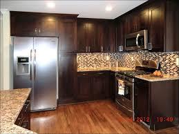 kitchen white kitchen dark floors two color kitchen cabinets