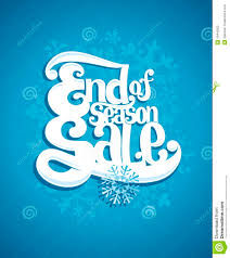 end of winter season sale illustration stock vector image 49448922