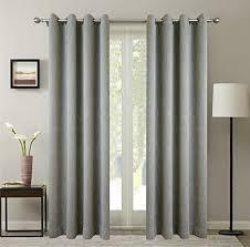 Double Wide Grommet Curtain Panels Double Wide Grommet Curtains Amazon Com