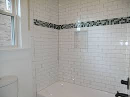 Bathroom Shower Tiles Ideas by Tub And Shower Tile Ideas Beige Ceramic Tiled Wall Double White