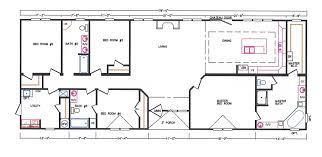 4 bed floor plans 4 bedroom floor plan k 3239 hawks homes manufactured