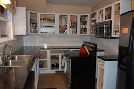 Kitchen Cabinets Without Handles Kitchen Without Cabinet Doors Image Collections Glass Door