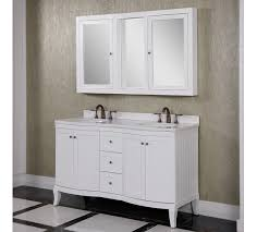 classic wk series 60 inch double sink bathroom vanity white finish