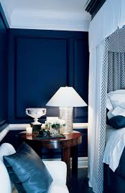 Blue Feature Wall In Bedroom Best 25 Blue And White Bedding Ideas On Pinterest Blue Bedding
