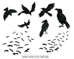 halloween clipart witch watercolor halloween clipart digital watercolour birds
