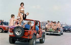 jeep pickup 90s spring break galveston in the u002780s and u002790s san antonio express news