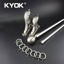 Curtain Rod Store Aliexpress Com Buy Kyok 2017 28mm Stainless Steel Curtain Rod