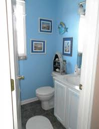 decorated bathroom ideas ocean themed bathroom ideas white finish stained wooden display