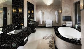 Gold Bathroom Lights Black And Gold Bathroom As Well As Light Brown Ceramic Tile Wall