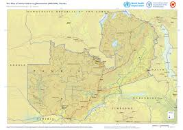 Zambia Map Who Mapping The Distribution Of Human African Trypanosomiasis