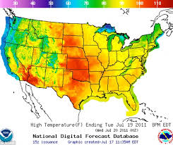 heat map us states heat warnings issues in 17 states crisisboom