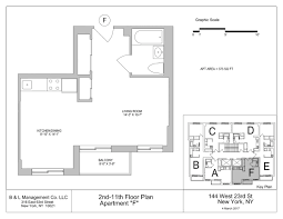 8 york street floor plans streeteasy 144 west 23rd street in chelsea 6f sales rentals