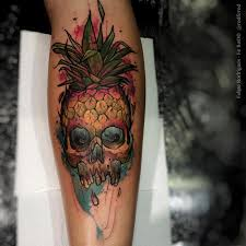 what are skull tattoos and what do they stand for pineapple skull http tattooideas247 com pineapple skull