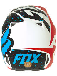 motocross helmets australia fox red white 2017 v2 nirv mx helmet fox freestylextreme
