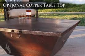 40 fire pit buy a custom made 40 inch plaza moreno hand hammered copper fire