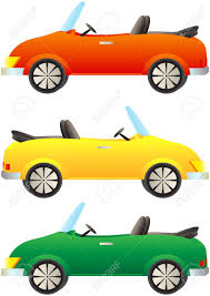 cartoon jeep side view set cartoon colorful cars cabriolet royalty free cliparts vectors