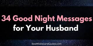 the best messages for your husband