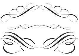 free calligraphic ornament brushes free photoshop brushes at