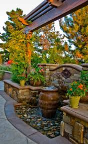 outdoor fountain ideas home design
