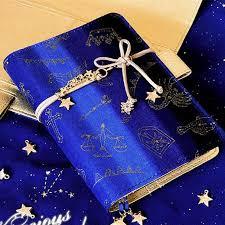 royal blue royal blue galaxy diary notebook sp1710671 spreepicky
