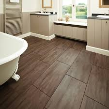 bathroom wooden floor tiles using white vanity with sink choosing