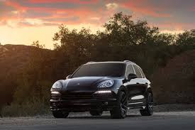 Porsche Cayenne Lifted - exotic cars on the streets of miami matte black porsche cayenne