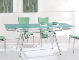 Best Extendable Glass Dining Table Images On Pinterest Dining - Contemporary glass dining room furniture