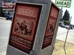 indieheroes free indie flyer poster template by indieground