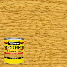 Minwax  Qt Wood Finish Natural OilBased Interior Stain - Interior wood stain colors home depot