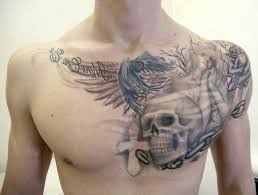 tattoos for on chest fantastic
