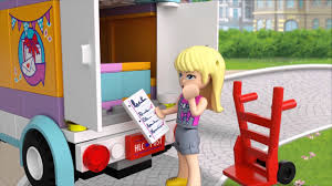 gift delivery heartlake gift delivery 41310 lego friends product animation