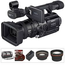 Kamera Sony Hdv Sony Hvr Z1u 1 3 3ccd Hdv Camcorder Kit B H Photo